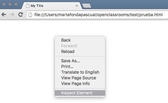 Menú ver código fuente de la página