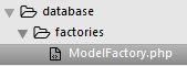 Le ModelFactory