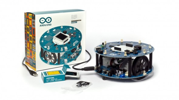 Une exemple de kit robot proposé par Arduino (www.geek.com)