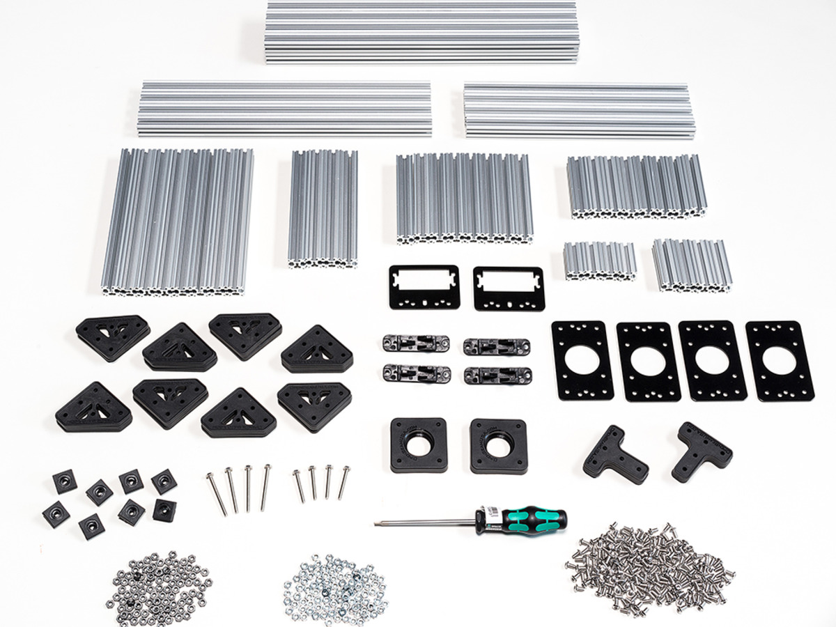 Un kit de construction en métal (www.adafruit.com)
