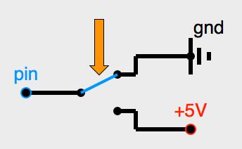 Connexion d'un microrupteur inverseur