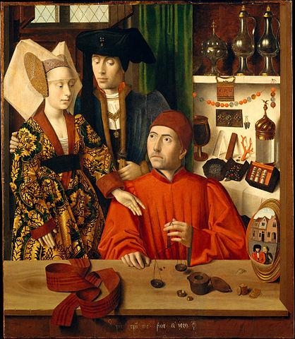 Un orfèvre dans son atelier (Petrus Christus - 1449)