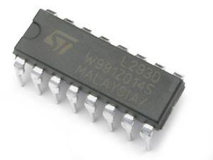 Circuit intégré L293D (solarbotics.com)