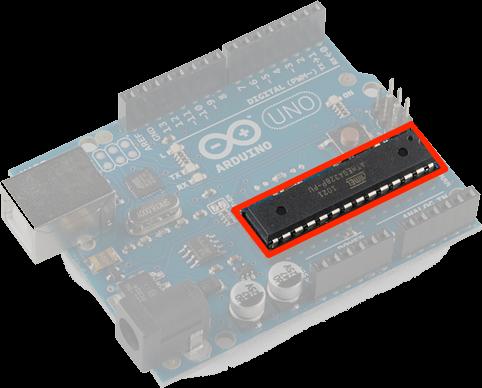 Le microcontrôleur de l'Arduino