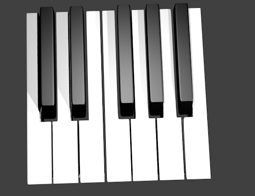 clavier piano effet vague par reverse openclassrooms. Black Bedroom Furniture Sets. Home Design Ideas