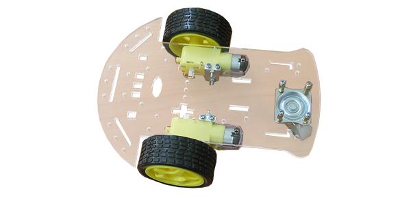 plate-forme à roue folle (http://www.robot-maker.com)