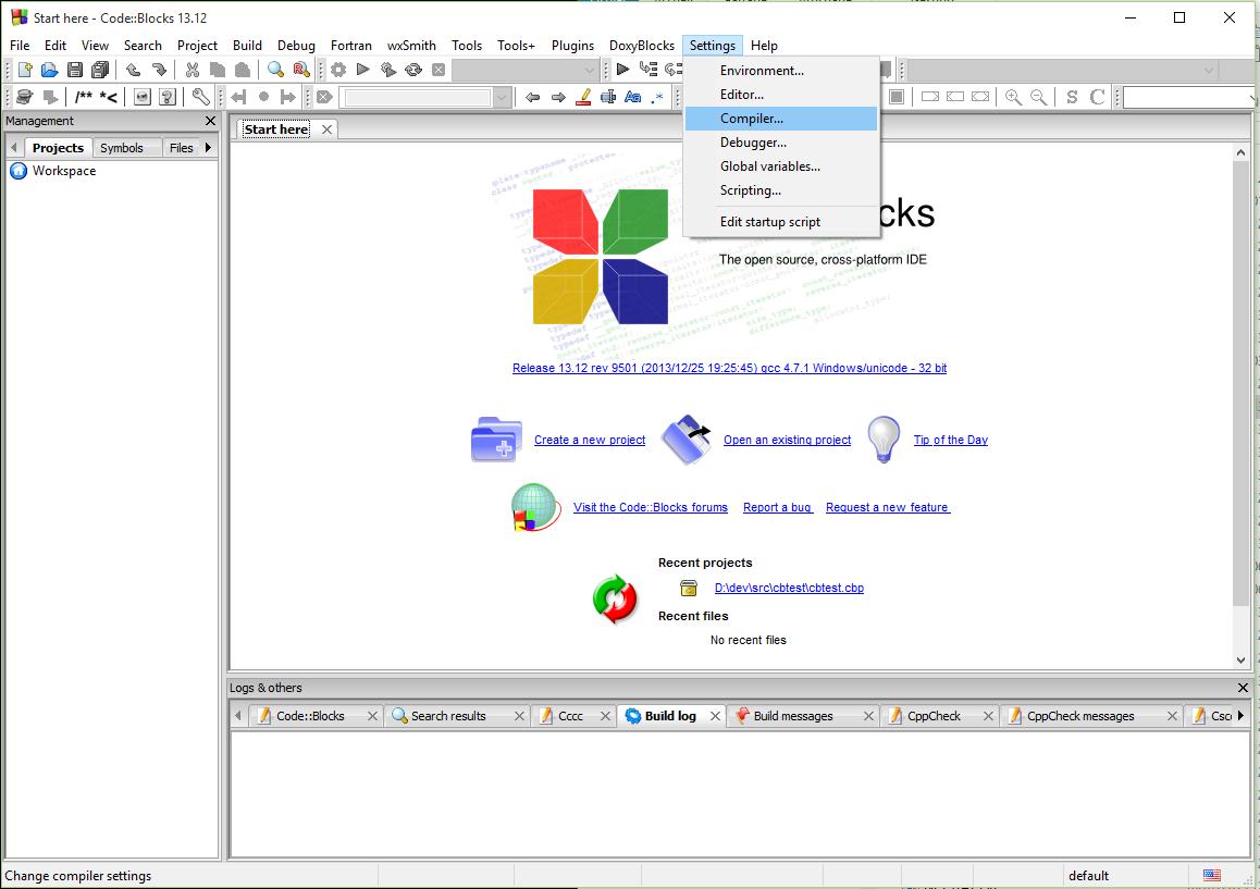 Mettre à jour le MinGW GCC de Code::Blocks - Comment installer un