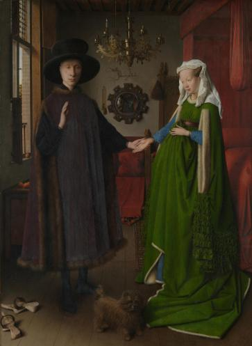 Les Époux Arnolfini, Jan Van Eyck © Copyright The National Gallery, London 2016