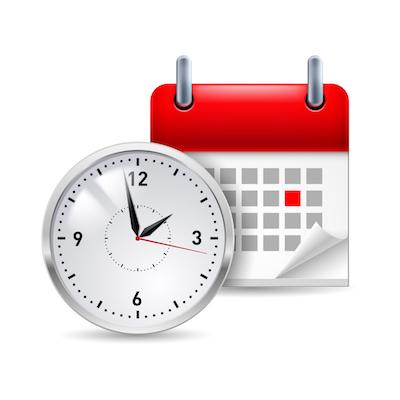 Organisez bien votre temps dès le début pour réussir la formation !