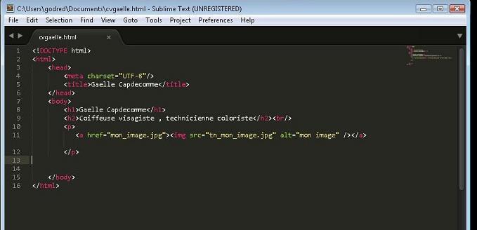r u00e9solu  structurer son cv   html et css