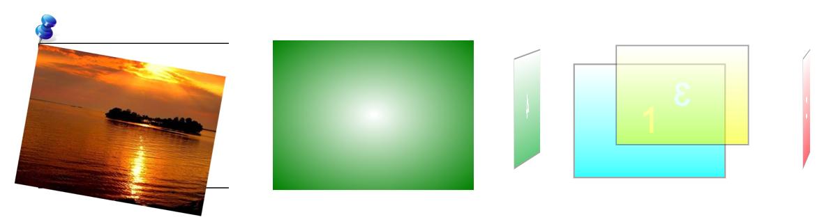Quelques-uns des effets que nous allons créer en CSS !