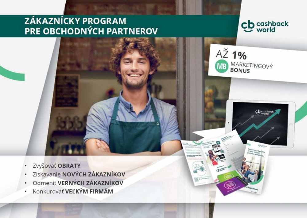 Cashback solutions - Vernostný program