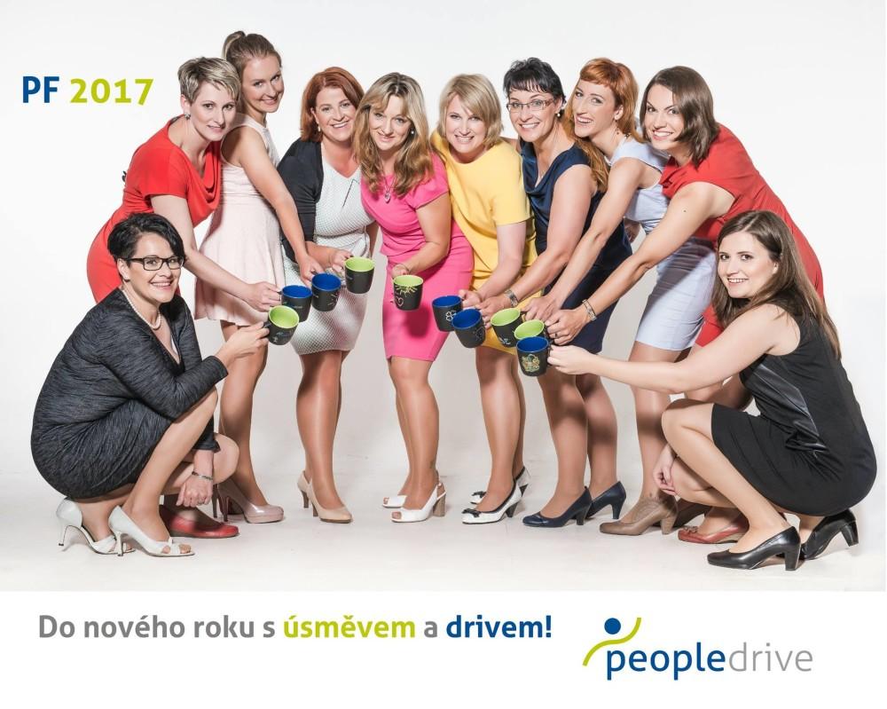 Peopledrive PF 2017 - Do nového roku s úsměvem a drivem!