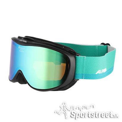 7da658154 Lyžiarske okuliare Alpina CHALLENGE 2.0 GREEN obsahujú UVA a UVB a UVC  ochranu s dvojité sklo, dobrý ventilačný systém, ktorý zabraňuje  zahmlievaniu, ...