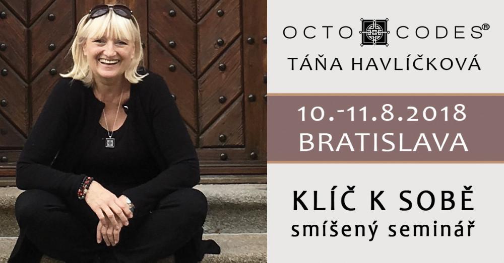 Táňa Havlíčková OCTO CODES seminář Bratislava