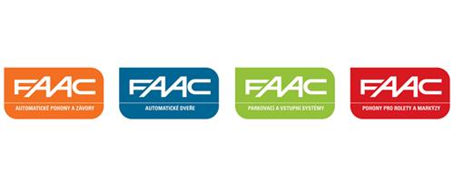 Automatické pohony, závory a dveře FAAC