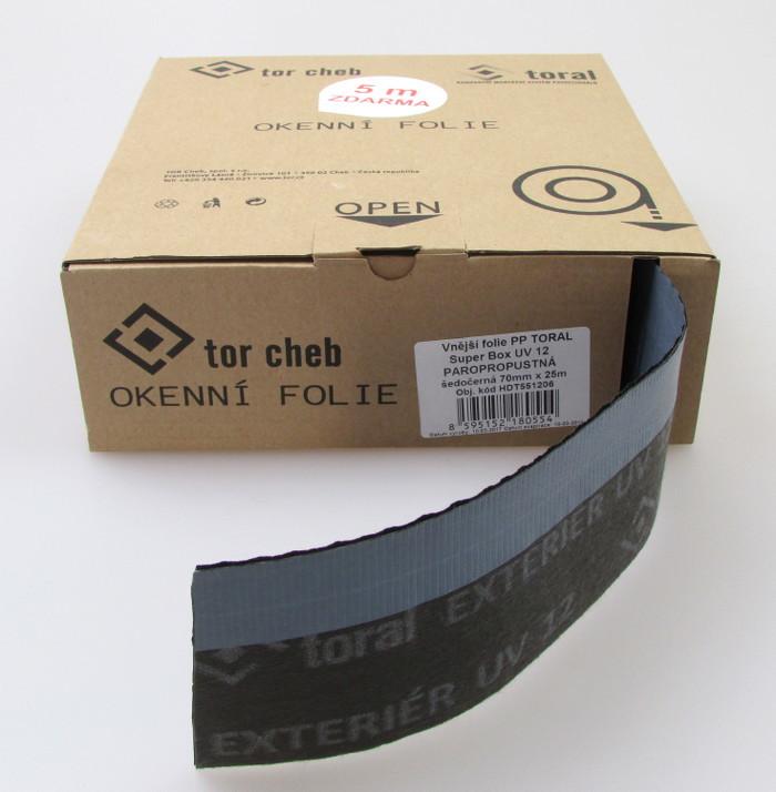 Vnější paropropustná folie  TORAL SuperBox UV 152 70 mm