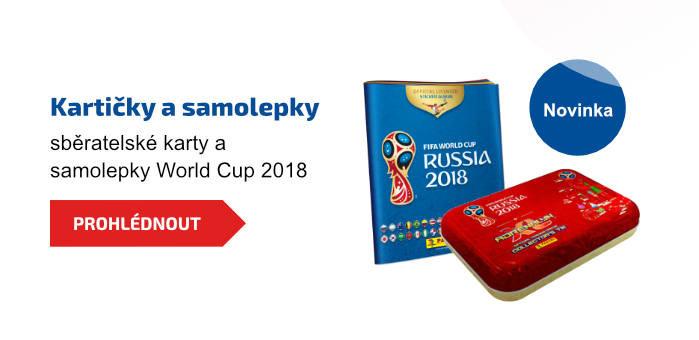 Kartičky a samolepky. Sběratelské karty a samolepky World Cup 2018
