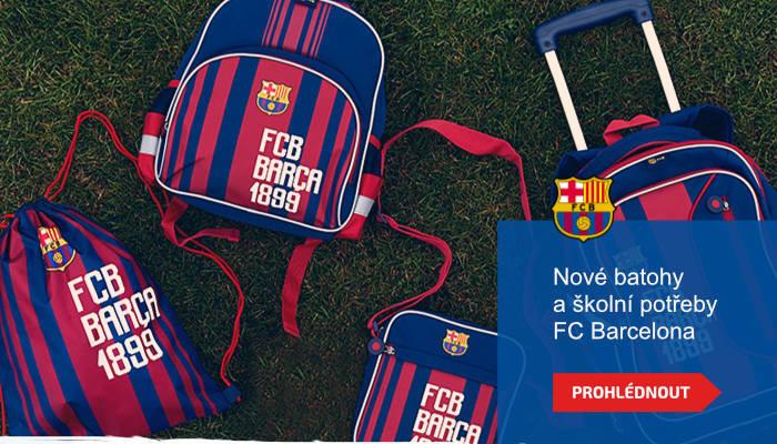 Nové batohy a školní potřeby FC Barcelona