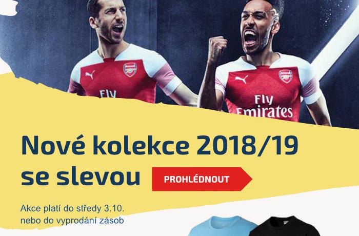 Nové kolekce 2018/19 se slevou. Platnost akce do 3.10.2018 nebo do vyprodání zásob