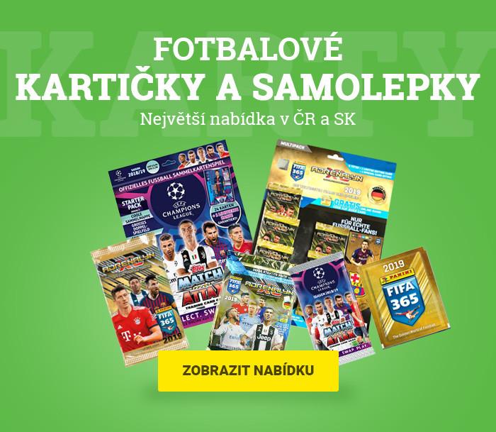 Největší výběr fotbalových karet a samolepek v ČR a SK
