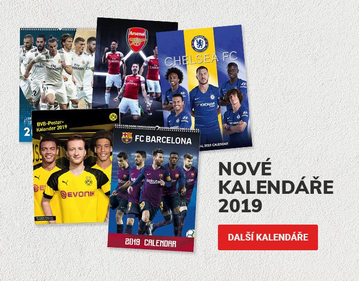 Nové fotbalové kalendáře 2019