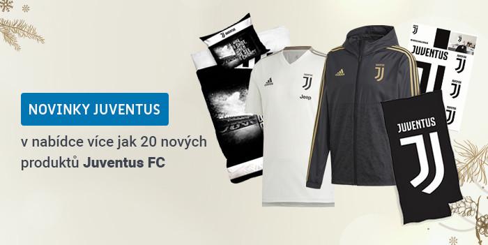 Novinky JUVENTUS FC, více jak 30 nových produktů.