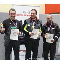 Vítězové soutěže servisních techniků