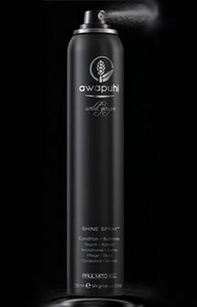 Hydratace a pružná fixace s lakem na vlasy Awapuhi Wild Ginger