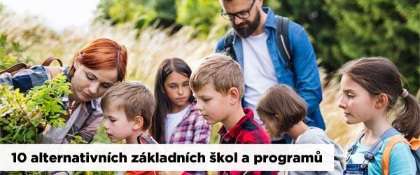 10 alternativních základních škol