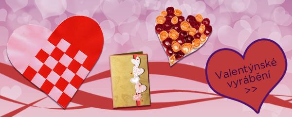 Valentýnské vyrábění