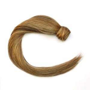Coffee N Cream Ponytail Remy Hair 55cm