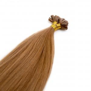 Caramel Nail Tip Virgin Remy 55cm