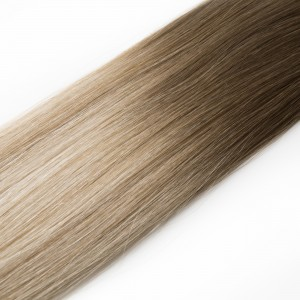 Coffee n Cream Balayage Tape Virgin Remy 55cm