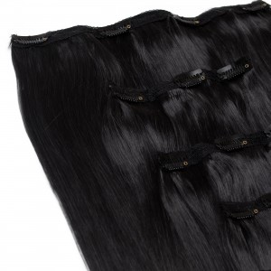 Dust Clip In 5 Pieces Remy Hair 55cm