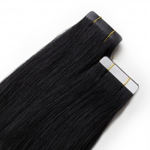 Midnight Tape Virgin Remy 55cm