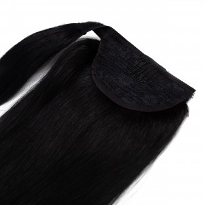 Midnight Ponytail Remy Hair 55cm