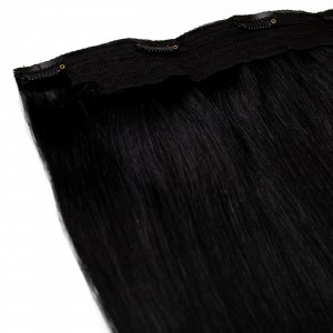 Midnight Clip In 1 Piece Remy Hair 55cm