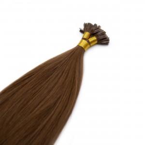Mocha Nail Tip Virgin Remy 55cm