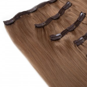 Opal Clip In 5 Pieces Remy Hair 55cm