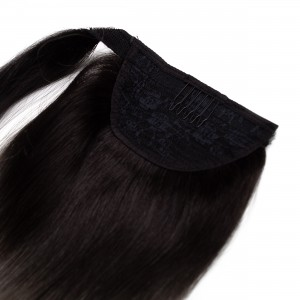 Salt n Pepper Ponytail Remy Hair 55cm