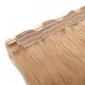 Vanilla Clip In 1 Piece Remy Hair 55cm