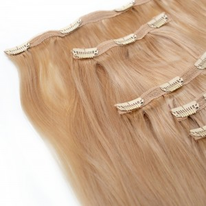 Vanilla Clip In 5 Pieces Remy Hair 55cm