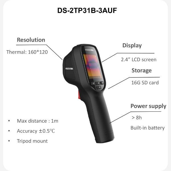 The Hikvision DS-2TP31B-3AUF Body Temperature Camera