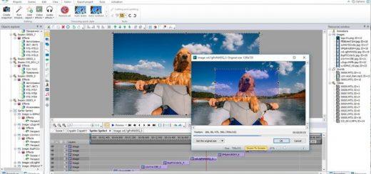 Un logiciel d'édition vidéo de l'entreprise VSDC