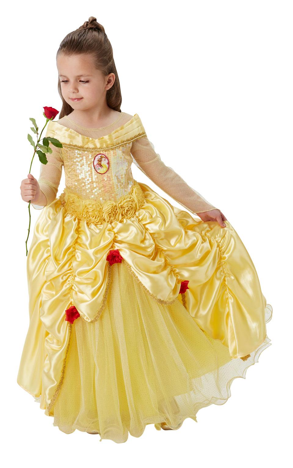 Rubies Disney Princess Beauty The Beast Premium Belle Fancy Dress Costume