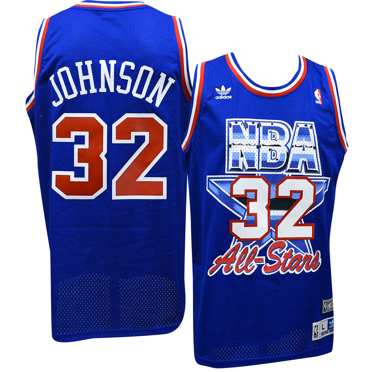 d81d95eb2 Details about Magic Johnson Lakers Adidas NBA 1992 All-Star Game Swingman  Jersey XL