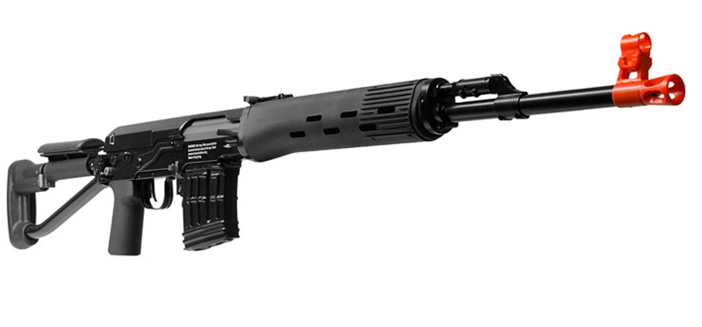 400 Fps Aftermath Dragunov Svds Airsoft Sniper Rifle Metal ...