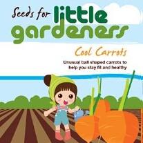 Little Gardeners - Mini Basketball Carrots