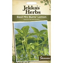 Jekka's Herbs Basil Mrs Burns' Lemon